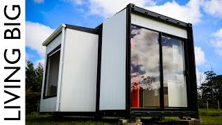 Amazing 20ft Shipping Container Home - The Pod-Tainer