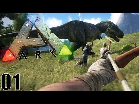 BIENVENUE CHEZ LES DINOSAURES ! | ARK: Survival Evolved ! #Ep1