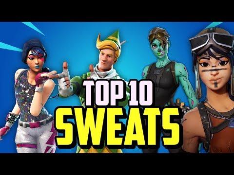Top 10 Sweatiest Skin Combos In Season 9! (Fortnite OG/Rarest Skins)
