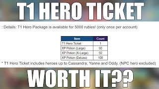 Video King's Raid - T1 Hero Ticket For 5K Rubies! Is It Worth It? MP3, 3GP, MP4, WEBM, AVI, FLV Desember 2018