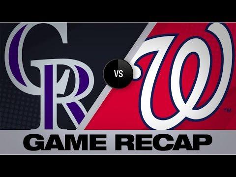 Video: Corbin, bullpen shut out Rockies   Rockies-Nationals Game Highlights 7/24/19