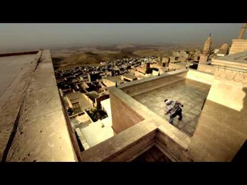 video que muestra como se hace Parkour en Mardin, Turkia