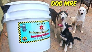 Dog MRE (Meal Ready To Eat)