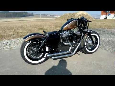Harley Davidson Sportster Bobber 48