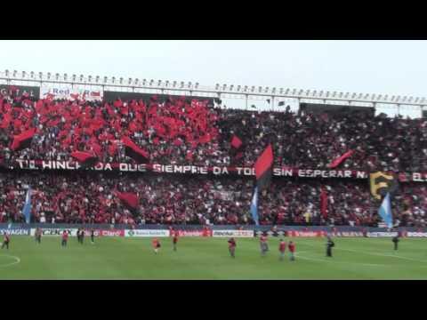 Impresionante Recibimiento - Colón vs Unión 2016 - Los de Siempre - Colón