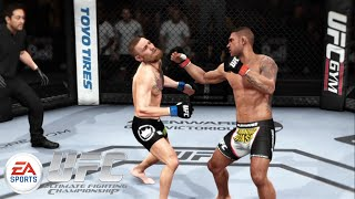 UFC 196: Rafael Dos Anjos vs Conor McGregor Lightweight Championship EA UFC Prediction, EA Games, video games