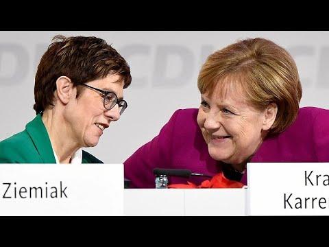 Γερμανία: Οι άμεσοι στόχοι της διαδόχου της Μέρκελ, Κραμπ Κάρενμπαουερ…