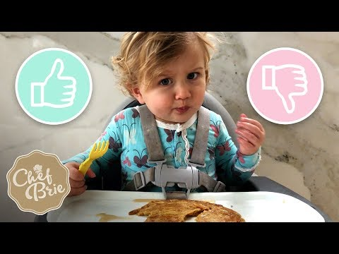 Birdie HATES Or LOVES Pumpkin Spice Pancakes?! - Chef Brie