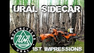 3. Ural side car 1st impression and review
