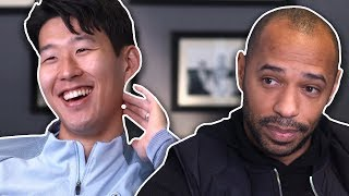 Video Why is Son always smiling? | Thierry Henry Meets Heung-Min Son MP3, 3GP, MP4, WEBM, AVI, FLV Juni 2018