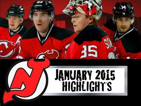 New Jersey Devils: January 2015 Highlights
