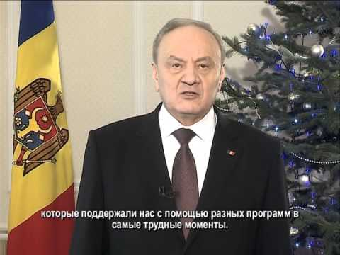 New Year message by Moldovan President Nicolae Timofti