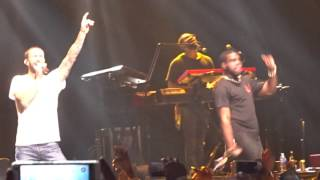 Video Rock City Feat Adam Levine -Locked Away live Syd on Maroon 5 concert All Phones Arena show 29/09/15. MP3, 3GP, MP4, WEBM, AVI, FLV Januari 2019