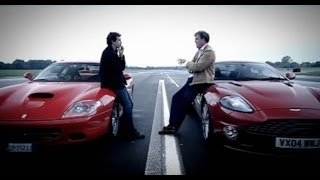Aston Martin Vanquish V Ferrari 575 Car Review - BBC