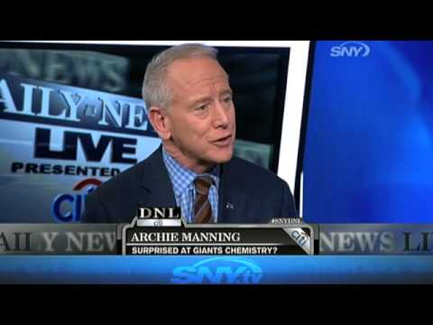 Video: Daily News Live: Archie Manning