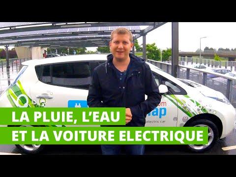 La pluie, l'eau et la voiture électrique