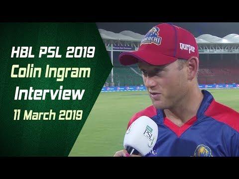 Colin Ingram Interview | 11 March | HBL PSL 2019 - Thời lượng: 2 phút, 32 giây.