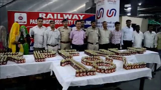 RPF Seized 1460 bottles of liquor, 3 women arrested