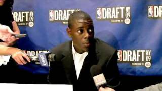 Jrue Holiday - 2009 NBA Draft Media Day Interview
