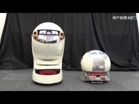 甲南大の漫才ロボット