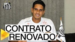 O zagueiro Lucas Veríssimo renovou seu contrato com o Santos FC até dezembro de 2019. Titular do sistema defensivo do Peixe, o Menino da Vila de 21 anos come...