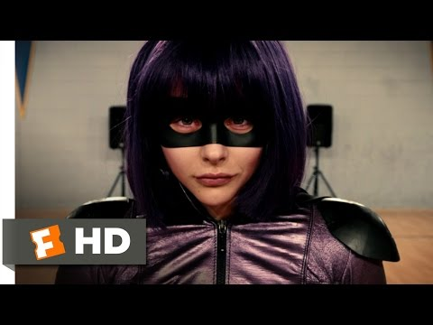 Kick-Ass 2 (4/10) Movie CLIP - Dance Audition (2013) HD (видео)