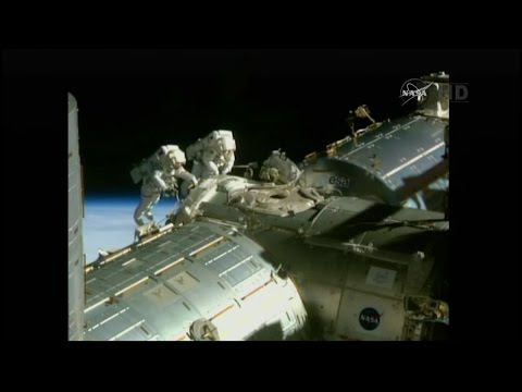 International Space Station U.S. EVA 29 timelpase
