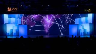 3D Set Projection Mapping : Legrand DX³ Product Launch