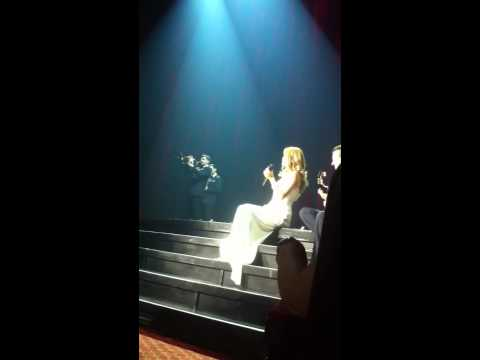 Celine Dion - live 2014 - At seventeen (in las vegas) and Beauty and the beast