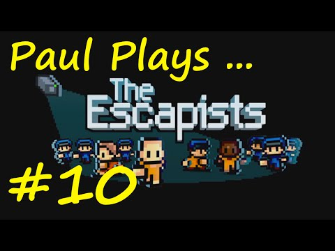 e10 - Let's play The Escapists! In this episode, we steal a guard's key and uniform which sets off a chain of events leading to a total lockdown! Full Playlist: http://bit.ly/1rXbvsF In The Escapists,...