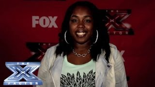Yes, I Made It! Chaude Taylor - THE X FACTOR USA 2013