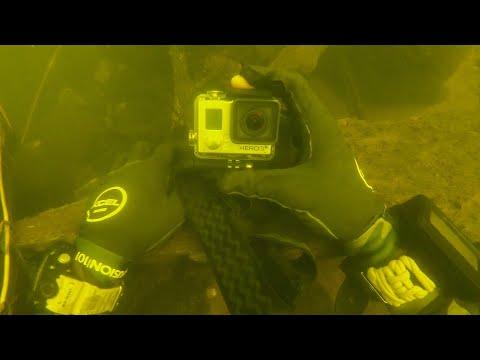 Found Lost GoPro Underwater at the Bottom of the River! (Returned to Owner)_Búvárkodás. Heti legjobbak