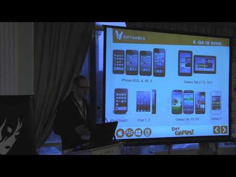 SOFTGAMES: Top 10 Tips How To Sell Your HTML5 Game (DevGAMM Kyiv 2013)