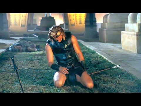 Achilles death | Troy (2004) movie scene