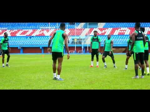Jamilu Collins: Super Eagles left back in training