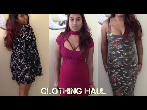Clothing Haul || Graduation Dresses, Birthday Gifts || Sanesh Makeup