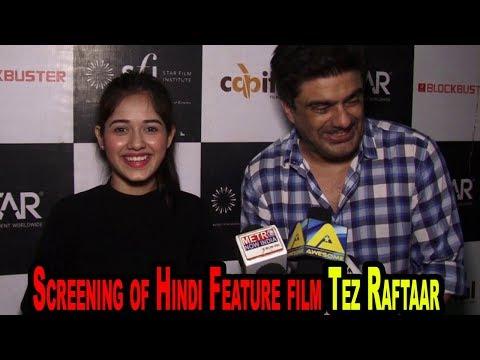 Samir Soni & Jannat Zubair At Screening of Hindi Feature film Tez Raftaar