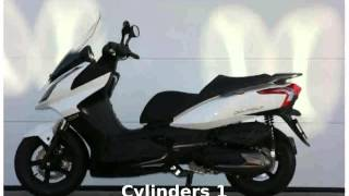 2. 2011 KYMCO Downtown 300i -  Transmission Specification
