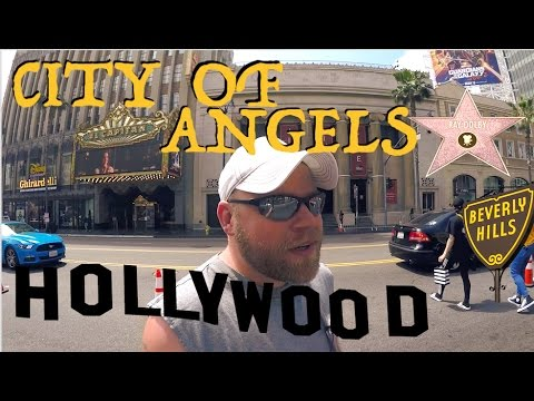 Los Angeles, Hollywood, Long Beach, Venice Beach & Beverly Hills! (видео)