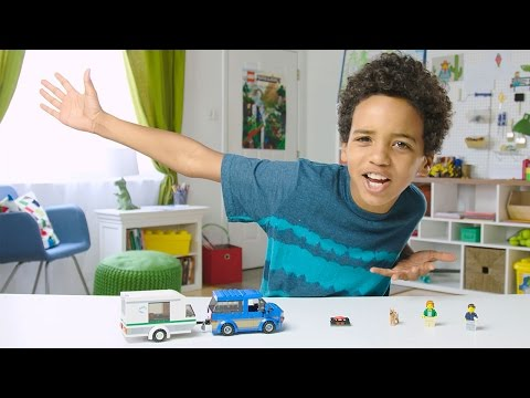 City - Van & Caravan - LEGO Build Zone - Season 3 Episode 9