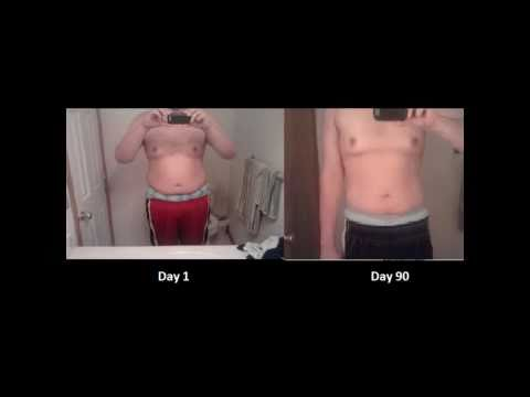 P90X Transformation Results – 100 lbs. Lost