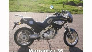 1. 2005 BMW F 650 CS Specs & Features