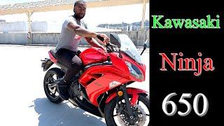 7. 2012 Kawasaki Ninja 650 Review