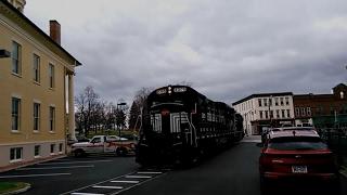 Canandaigua (NY) United States  city photo : FGLK Train Street Running In Canandaigua, New York