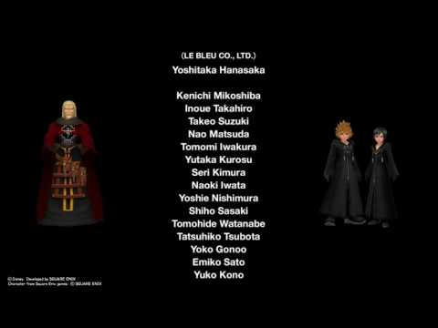 KINGDOM HEARTS HD Dream Drop Distance -Credits -End-