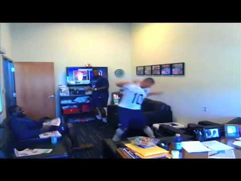 Seahawks' fake snake prank