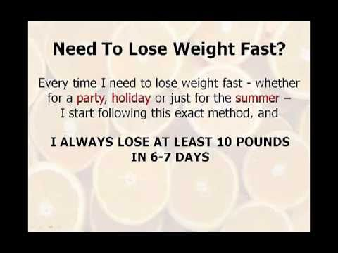 Fastest Way To Lose Weight: 7-Day Diet Gets Shocking Results And Is The Fastest Way To Lose Weight