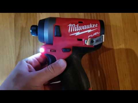 Milwaukee M12 Fuel Brushless Gen 2 Impact Driver (2553)...good As Gold