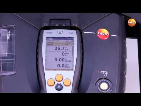 testo 350 Gas Analyser - Step 6 - How to Carry Out The Measu