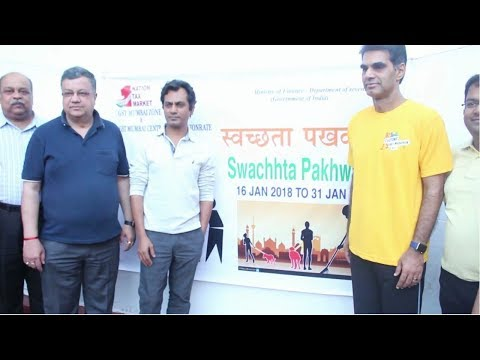 Nawazuddin Siddiqui Joins His Steps Towards Swachhata
